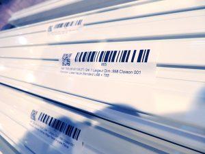 etiquetage par profils des cloisons amovibles